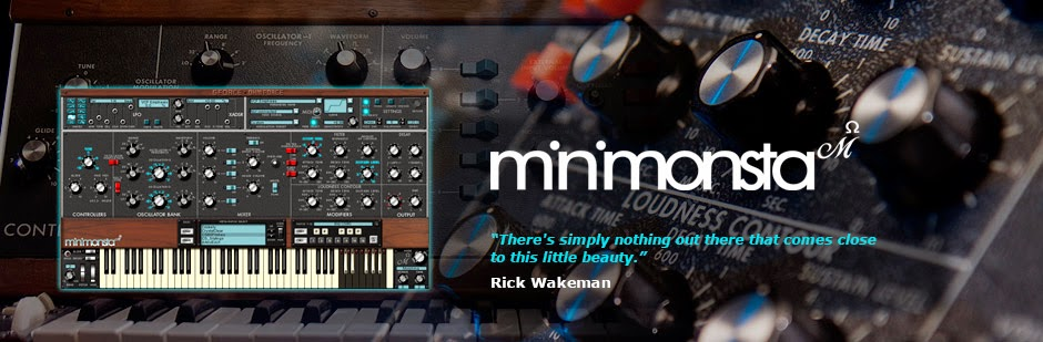 GForce Minimonsta Melohman Virtual Vintage Analog Synthesizer