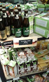 Gluten Free products at Marks and Spencer