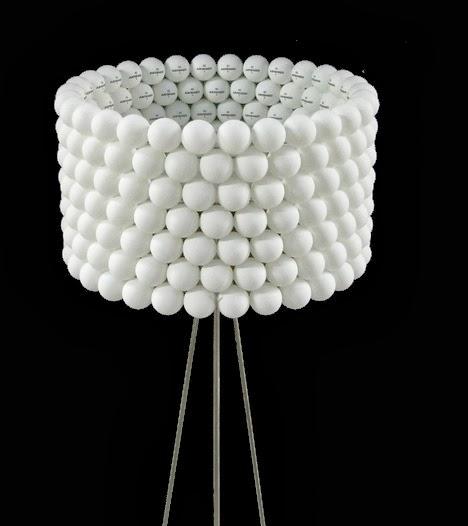 TWC: DIY- Una lámpara con bolas de ping pong