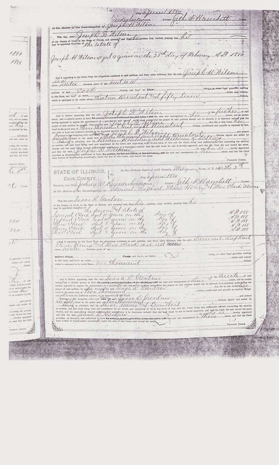Ancestry sisters the most comprehensive genealogy research on the cook county guardianship record that is in the probate books and an example of the index page if you need me to look up a name please let me know aiddatafo Gallery