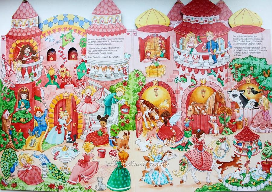 Виммельбух о феях и принцессах