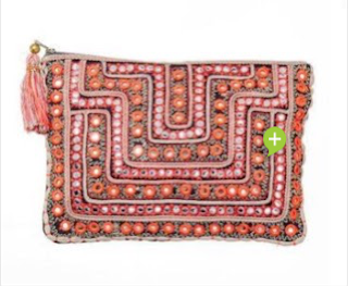 Moroccan Mirrored Clutch