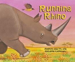Running Rhino by Mwenye Hadithi and Adrienne Kennaway