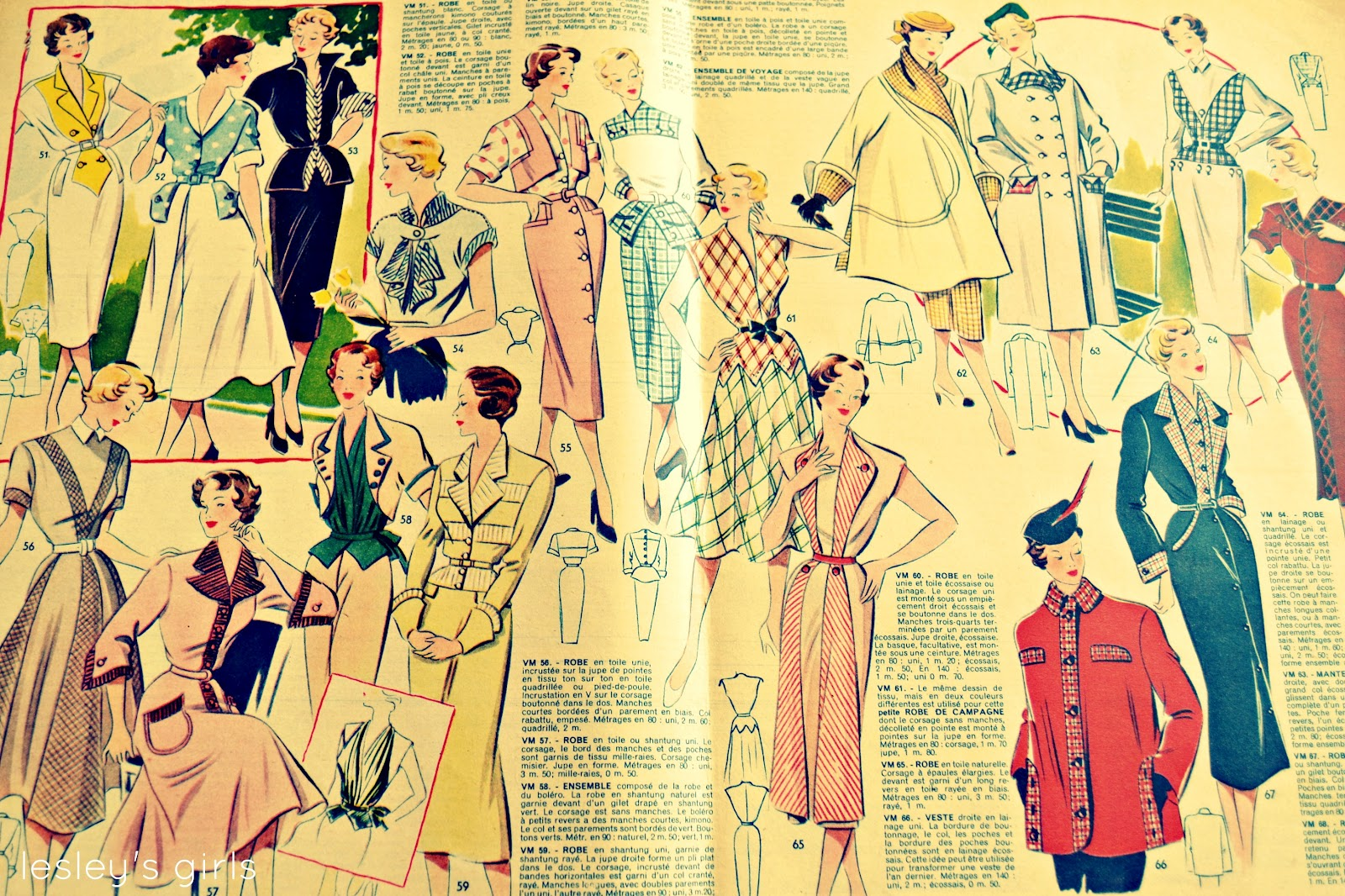 lesleys girls vintage lifestyle and fashion blog french