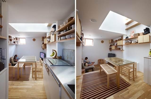 ruang makan dalam rumah