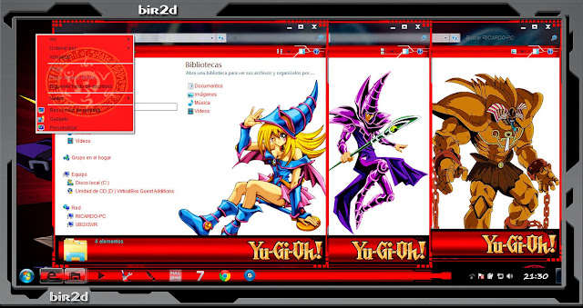 Yu-Gi-Oh! [ Theme Windows 7 ] 3