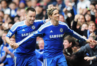 Video Gol Hattrick Torres Chelsea vs QPR Liga Inggris Terbaru 2012