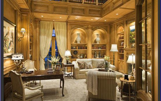 Decorar salas amplias ideas para decorar dise ar y for Decoracion salas clasicas elegantes