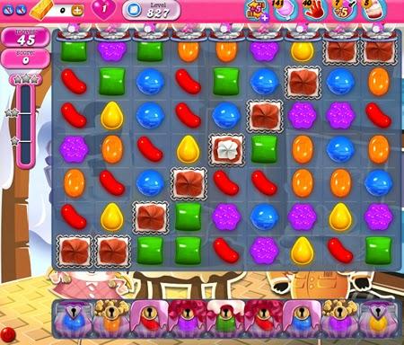 Candy Crush Saga 827