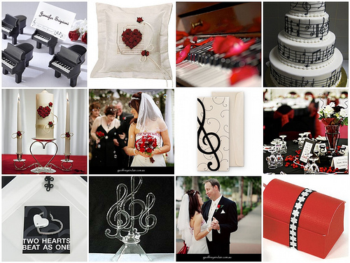 Musical Wedding Theme Unique Wedding Ideas And Collections