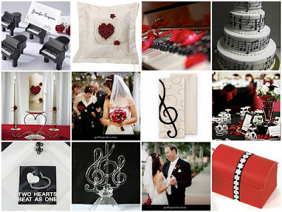 Musical Wedding Theme
