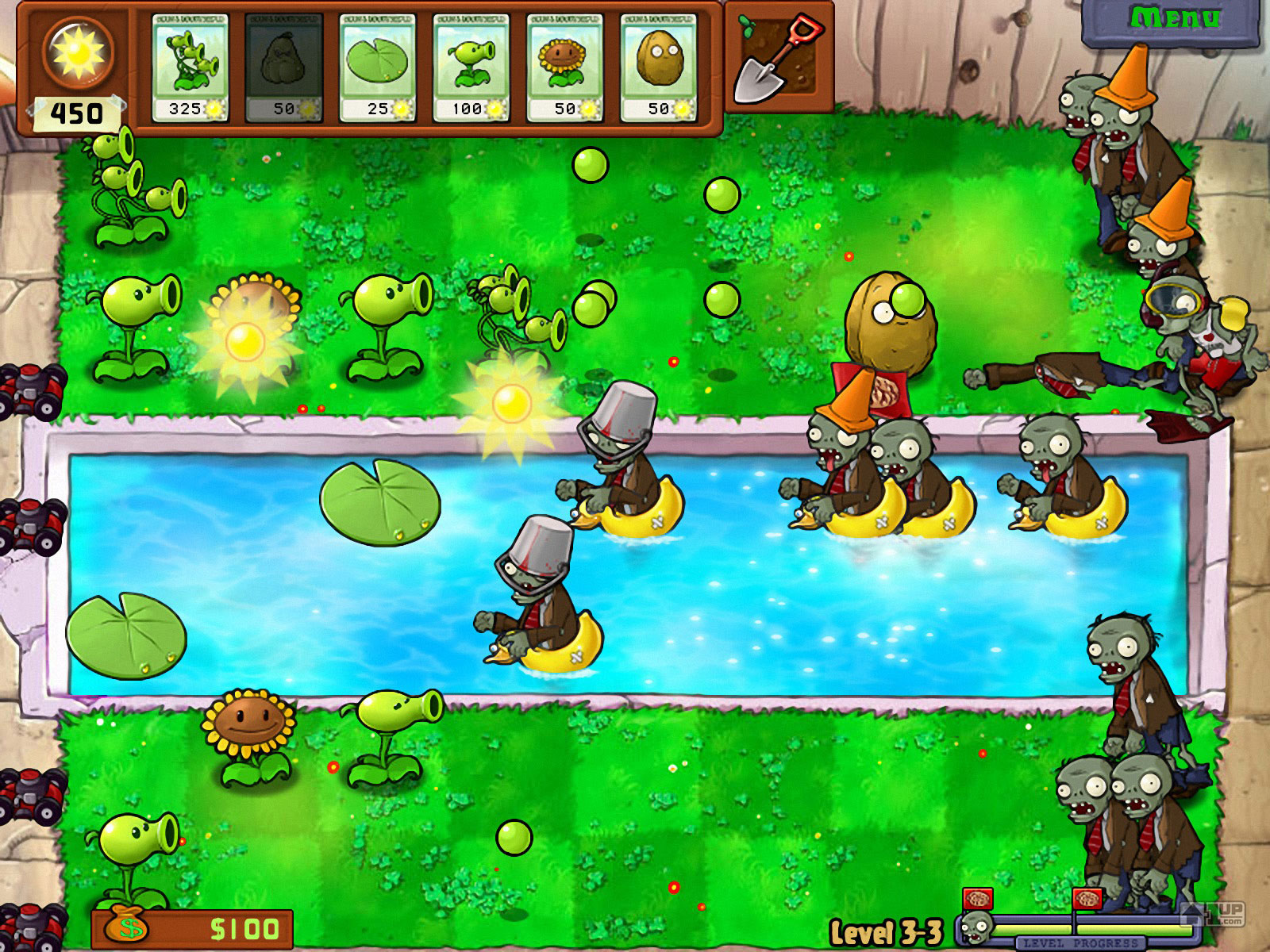 Plants vs. Zombies (free version) download for PC