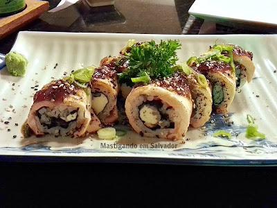 JoJo Sushi & Frutos do Mar: Maki JoJo