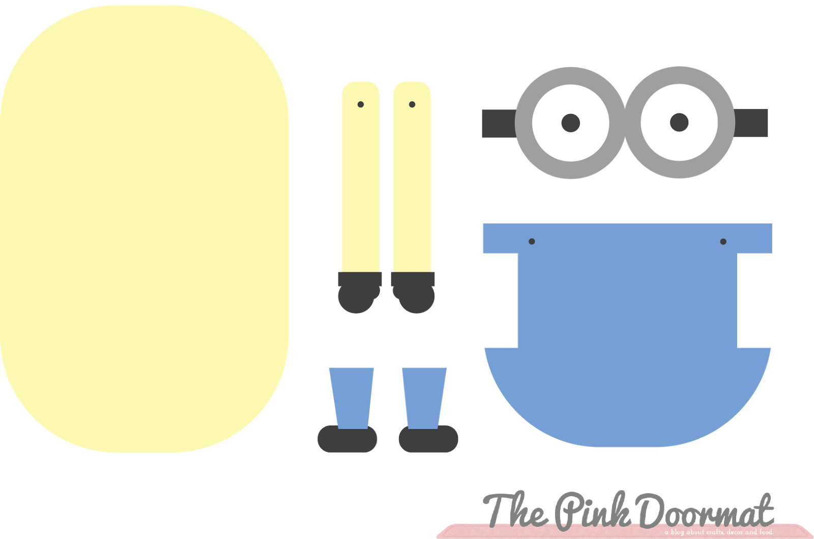 Minion Printable Template Viewing Gallery