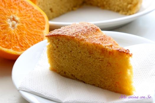 Mi cocina con so bizcocho de naranja al microondas - Bizcocho con microondas ...