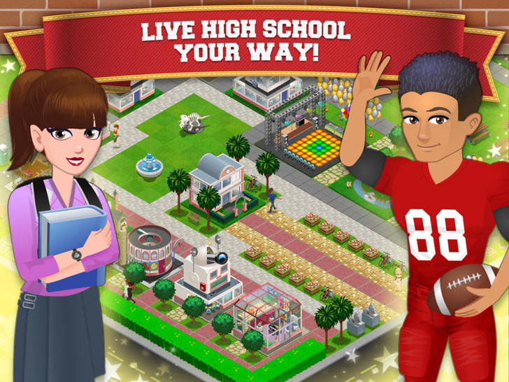High School Story App iTunes App By Pixelberry Studios - FreeApps.ws
