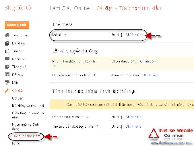 mo+ta Những nâng cấp mới cho blogspot   Đã gần như website chuyên nghiệp