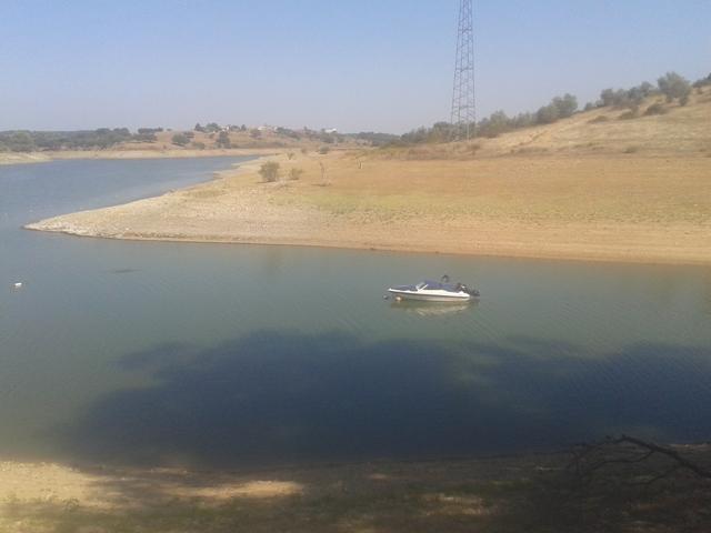 Barco na Barragem