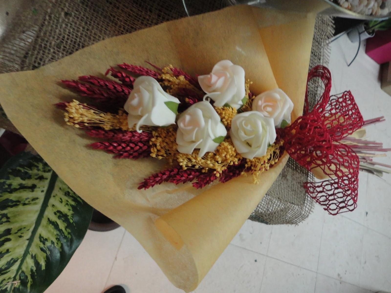 ramos de flores secas postado por florista gena