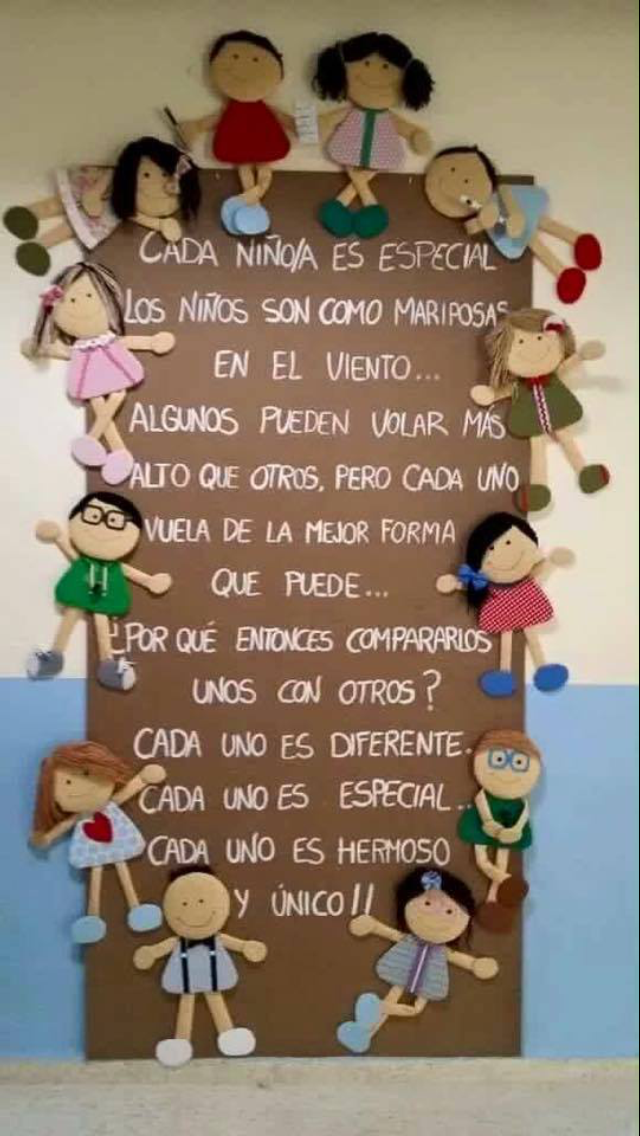 Todos los niños y niñas son especiales