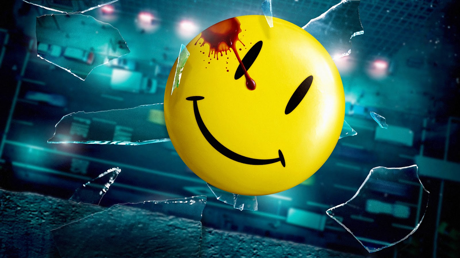 watchmen smiley HD wallpaper