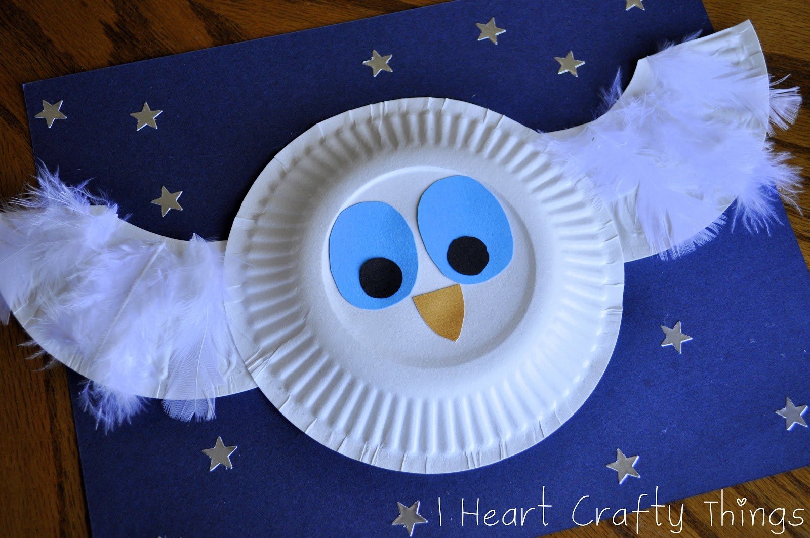 The Little White Owl Craft & The Little White Owl Craft | I Heart Crafty Things