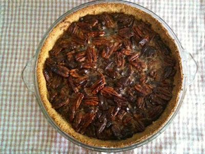 Baked Chocolate Pecan Pie recipe