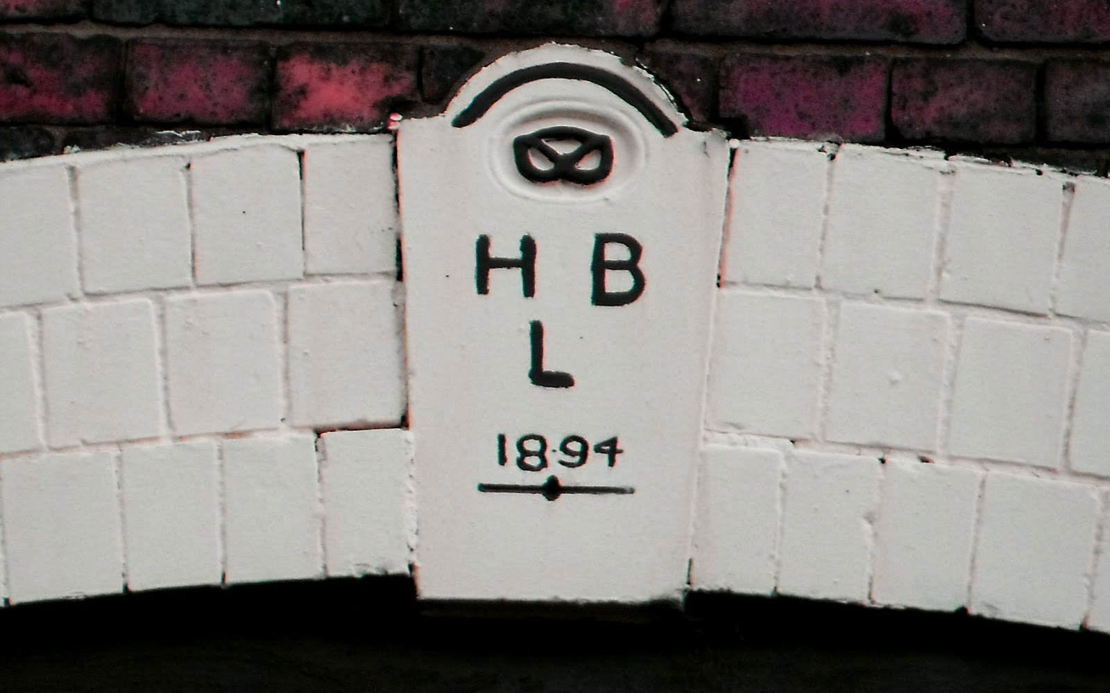 Keystone over the original entrance to the Horlestone confectionery factory in Longton