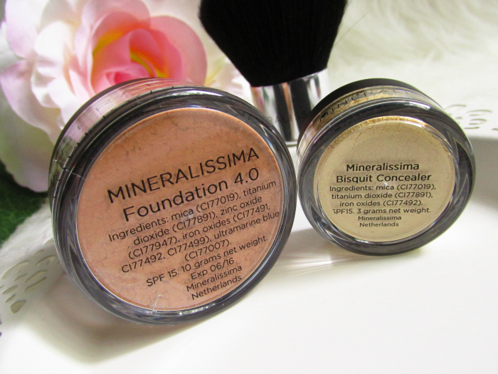 Review Mineralissima Foundation in 4.0 Tan mit SPF15 - Mineralissima Concealer in Bisquit mit SPF15