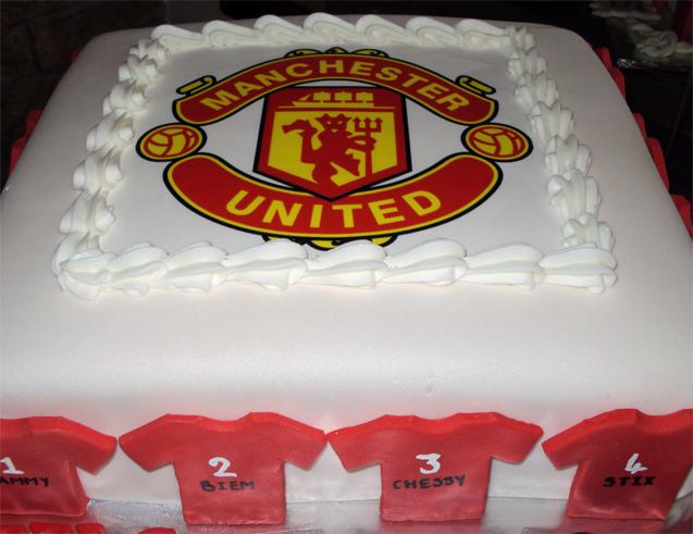 Delana s Cakes: Man United Cake