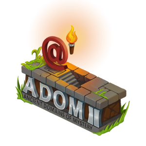 ADOM II logo