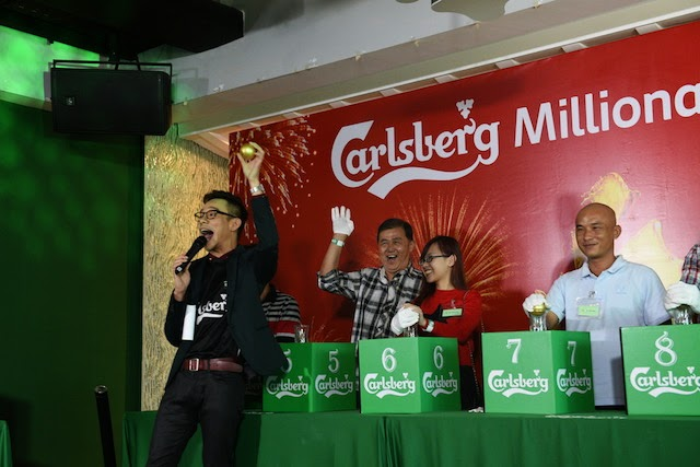 Lim Chong Boon's final draw ensured that he was in good standing to be the Carlsberg Millionaire; he ended with the combined total of 19 points
