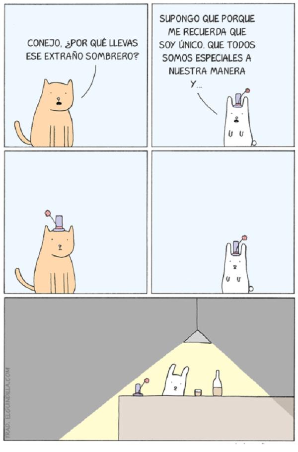 Un conejo único