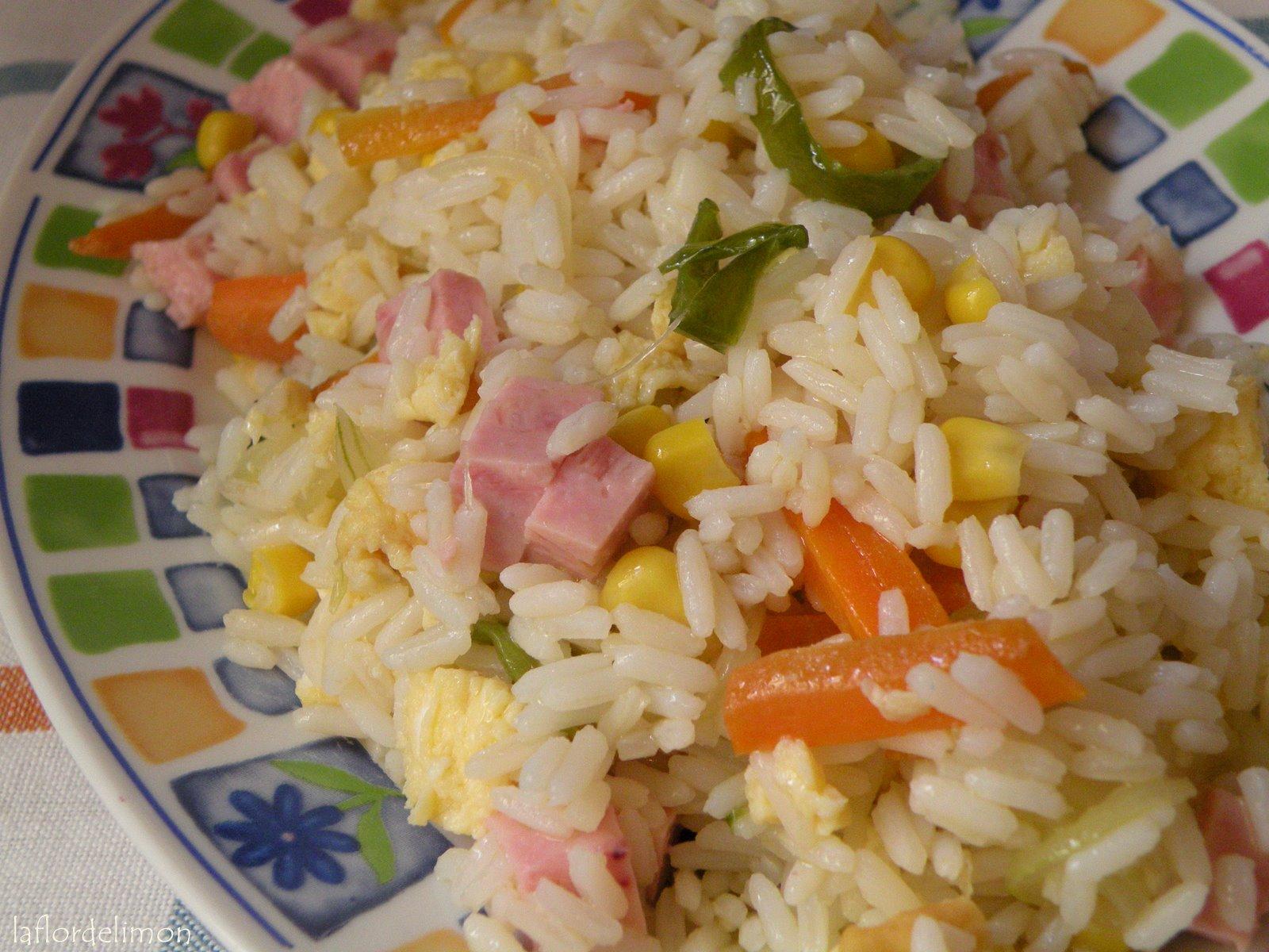 La flor de lim n arroz 3 delicias for Cocinar arroz 3 delicias