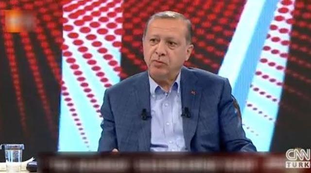 Ερντογάν: Δεν μπορώ να ζήσω αιχμάλωτος σε εδάφη γκιαούρηδων - Νέα πρόκληση από τον Τούρκο πρόεδρο [Βίντεο]
