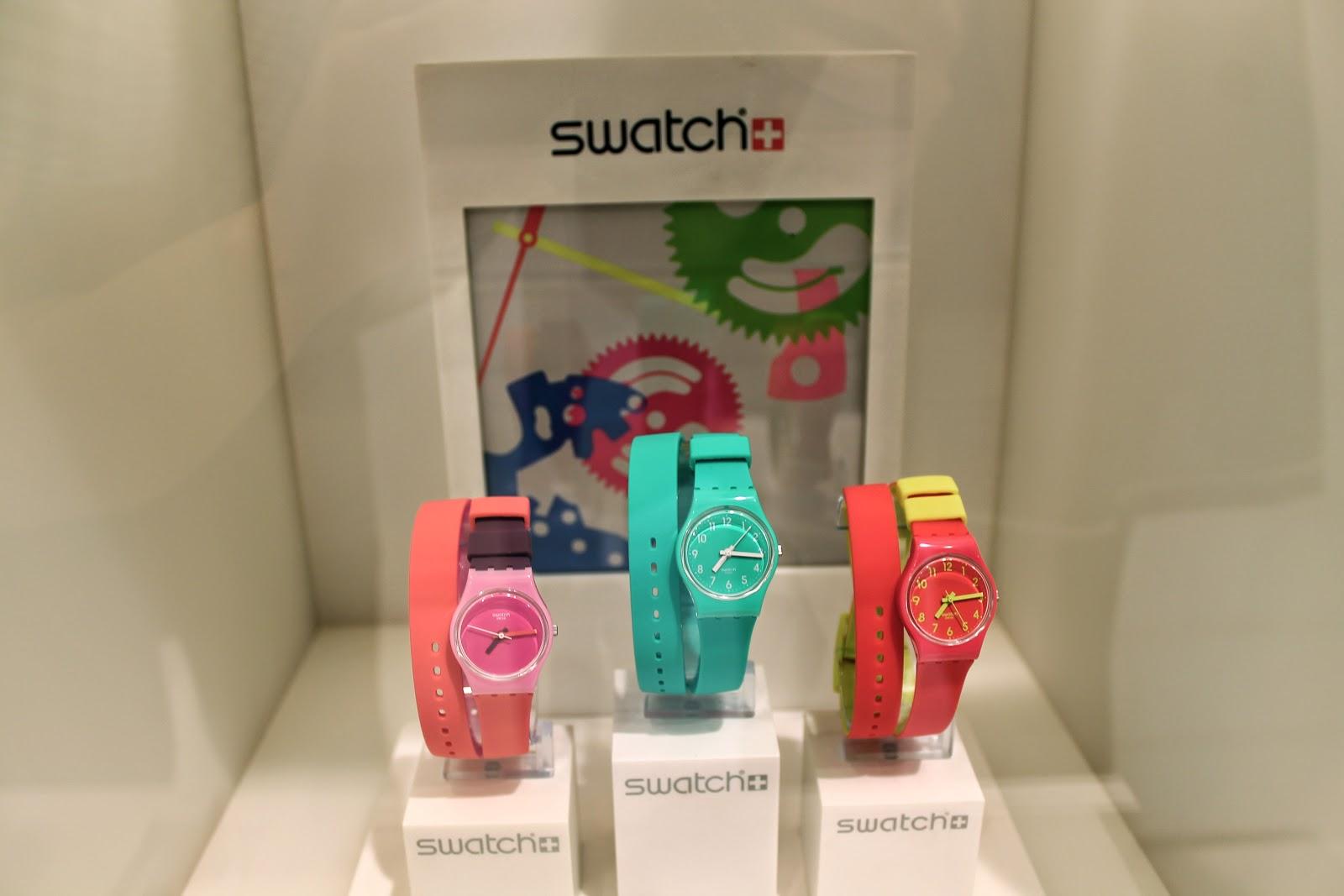 swatch double wrap around