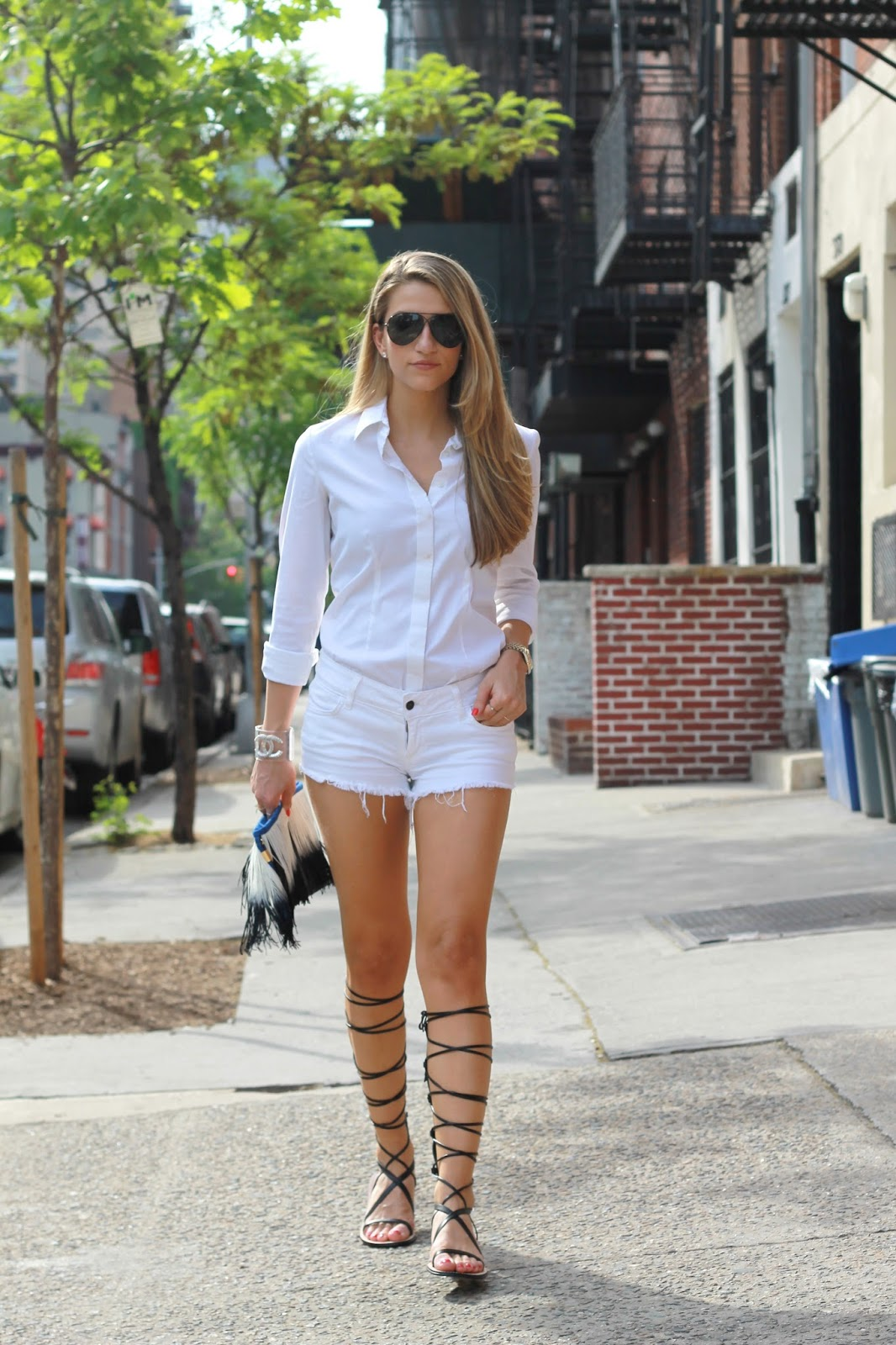summer outfits 2015, all white look 2015