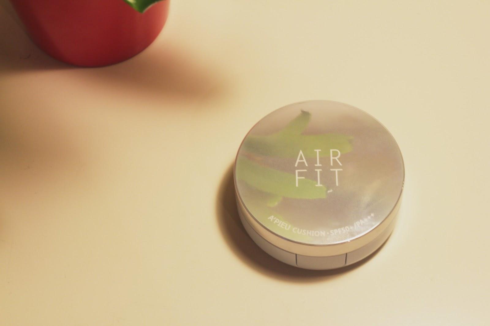 a'pieu air fit cushion compact review