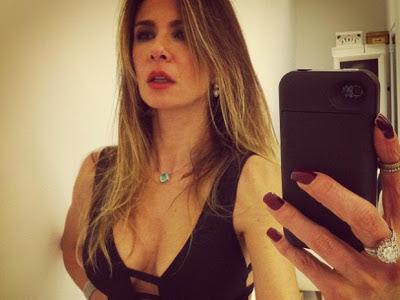 Luciana Gimenez posta foto malhando, recebe criticas por magreza, e