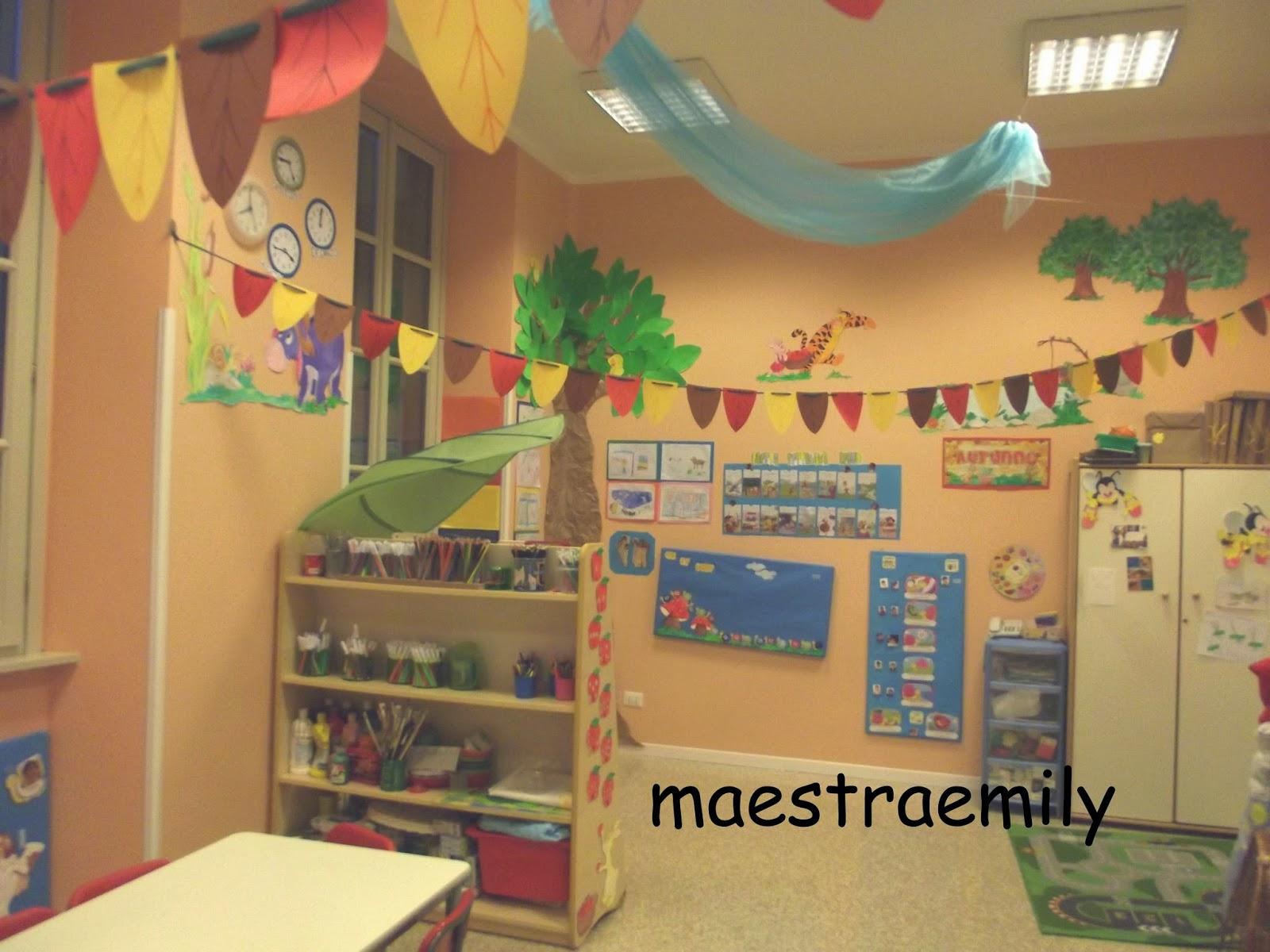 Maestraemily l 39 autunno in classe for Maestra valentina estate