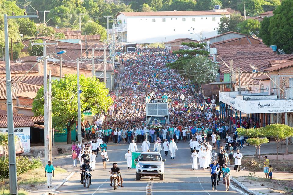 PROCISSÃO DE ENCERRAMENTO DO FESTEJO DE SANT'ANA 2015