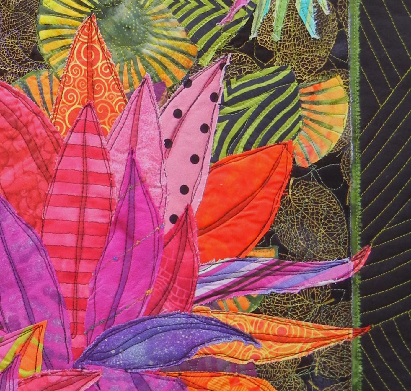Quilt Inspiration: Ellen Lindner, Adventure Quilter