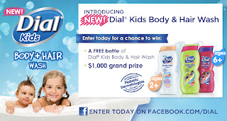 Dial+for+Kids+Body+Wash New Dial Kids Body & Hair Wash Giveaway - Review