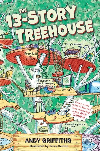 The 13-Story Treehouse: The Treehouse Books, Book 1