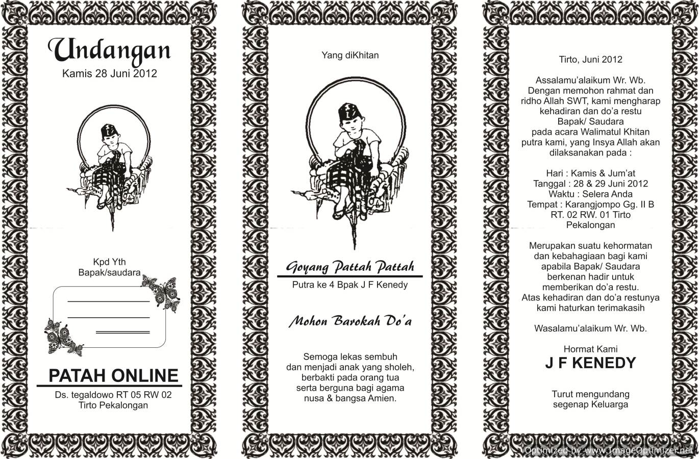 Download Undangan Hajatan