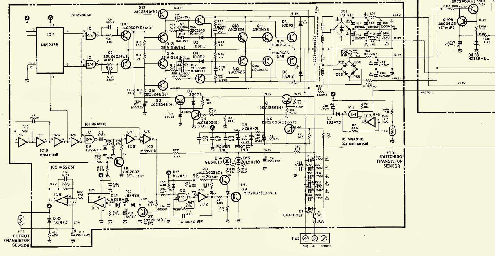 2.bmp harman kardon ca260 hi fi car amplifier schematic diagram wiring diagram for 2000 camaro at fashall.co
