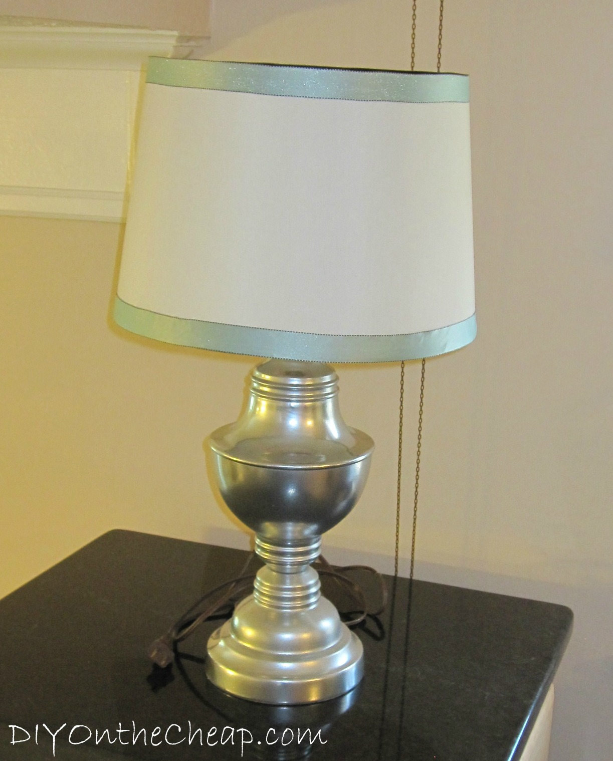 Simple lamp shade ribbon trim erin spain aloadofball Choice Image