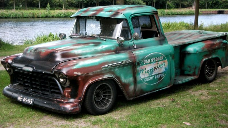 1956 ford f100 truck box  1956  free engine image for user