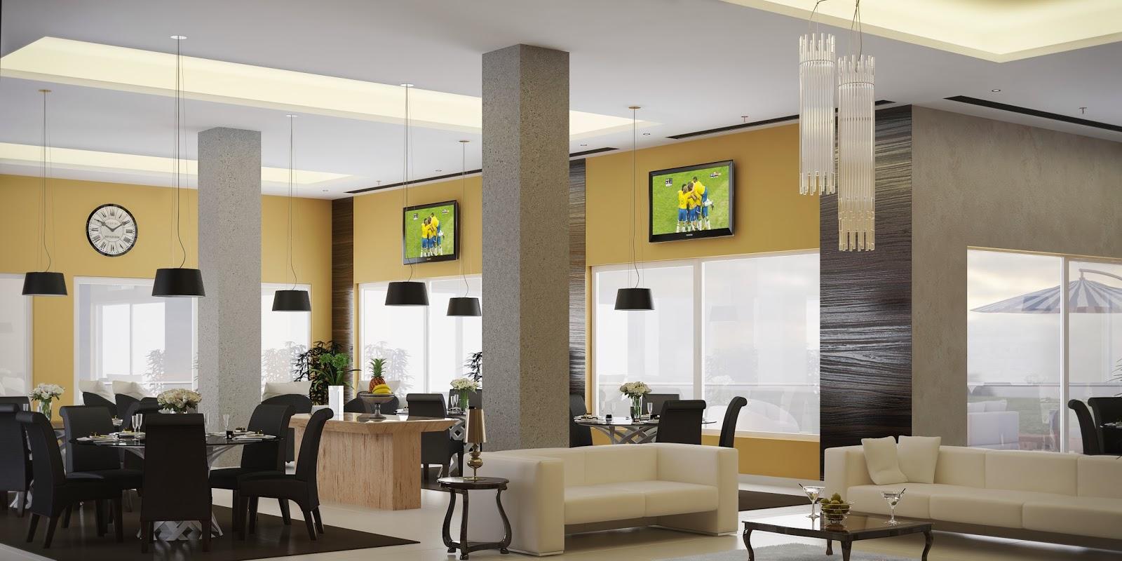 Projeto 3D Espaço Gourmet Salão de Festas de Condomínio (Canela #829734 1600 800