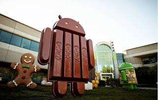 Vídeo de apresentação da estatua do Android KitKat